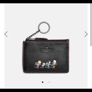 Coach Snoopy skinny I'd Card case